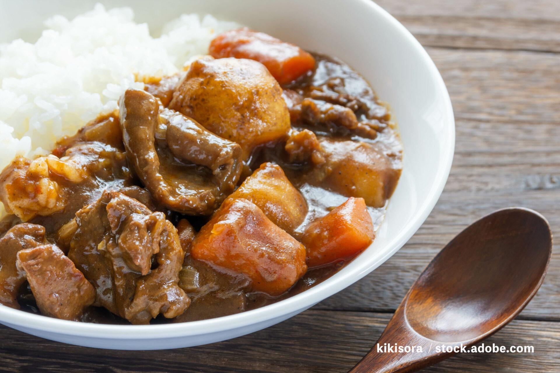 【着床率UP】スジ肉カレーの作り方|男性にも人気の妊活レシピ